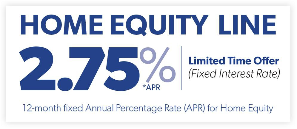 2.75% Home Equity Line