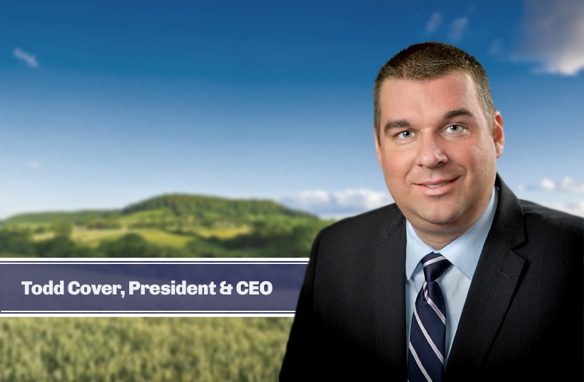Todd Cover: President & CEO