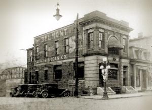 Belmont Savings Bank in 1885